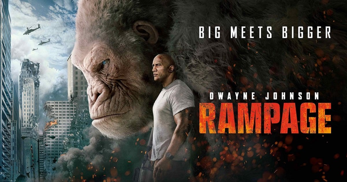 Film Review Rampage 2018 Moviebabble